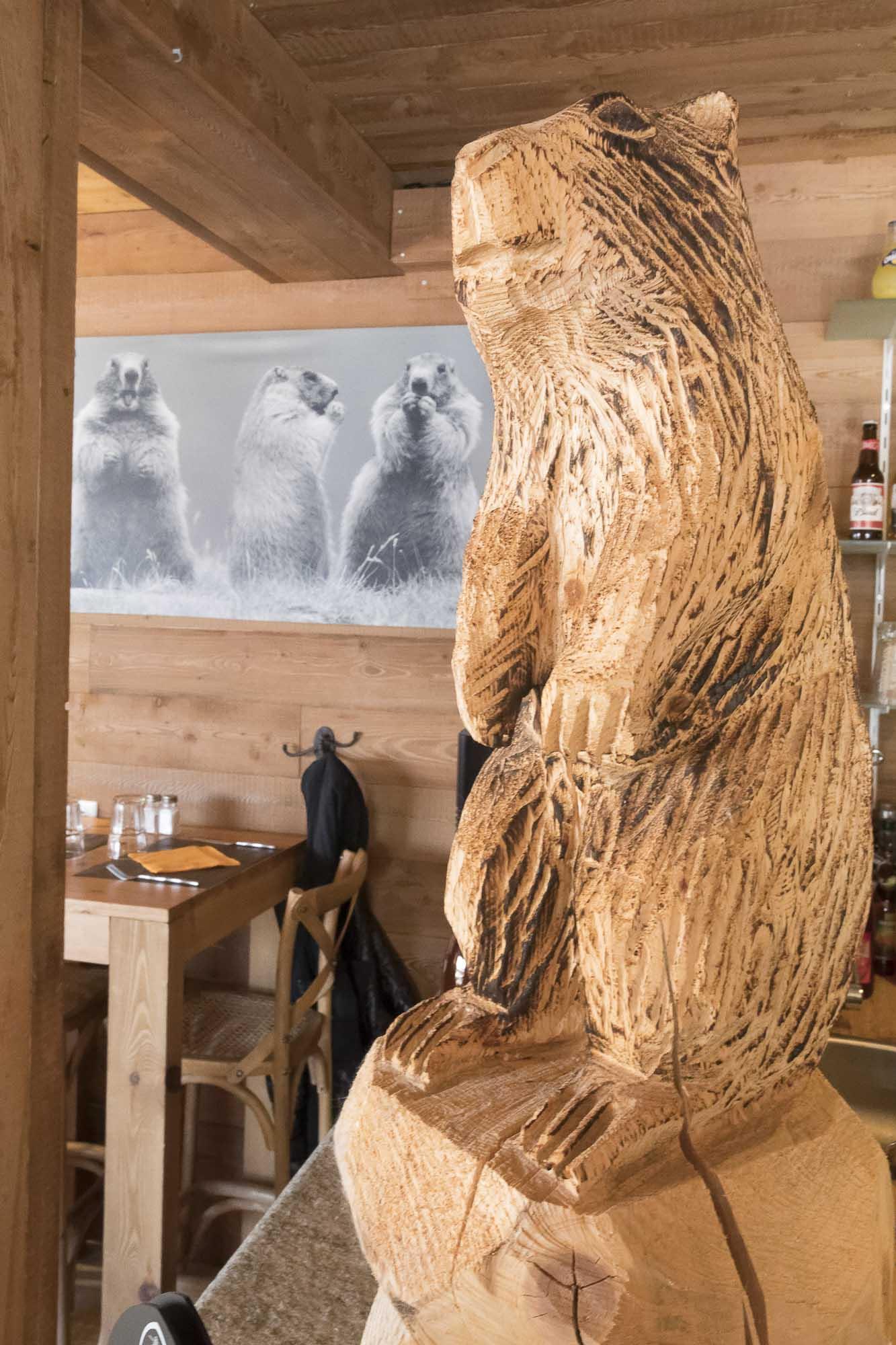 La table des Marmottes restaurant les ménuires-7